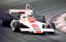 Hill GH1 . Alan Jones. Dutch GP 1975